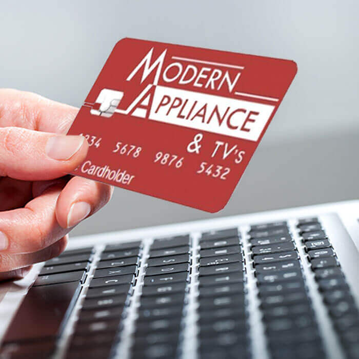 No Interest With Your Modern Appliance Card